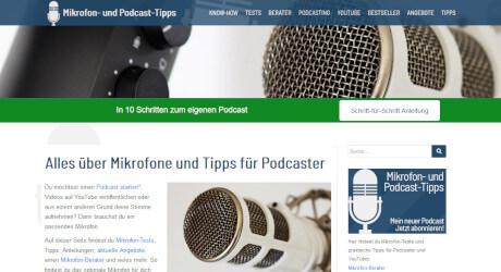 Nischenseiten Challenge 2018 - Platz 5 - Mikrofon Test Podcast